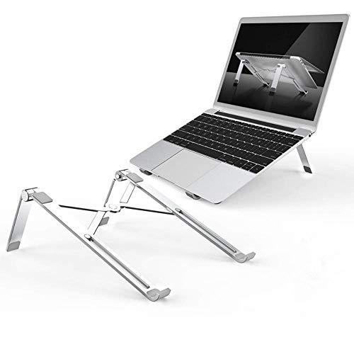 Laptop stand Fast Folding Portable X-Type Ventilation Cooling of Aluminum Frame Desktop Lifter Adjustable Ergonomic Stand For7-15 Inch PC Laptop MacBook Pro