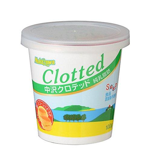 中沢 クロテッドクリーム 冷蔵 100g