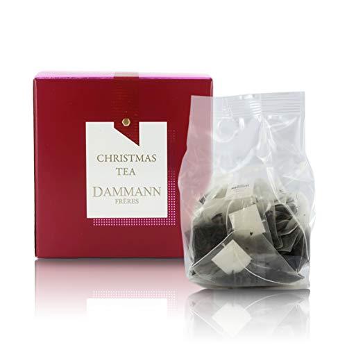 Pasticceria Passerini dal 1919 Christmas Tea, Té Negro Aromatizado - Edición Especial Navidad 2020, 25 bolsitas - Dammann Frères