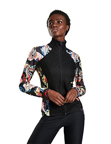 Desigual Womens Sweat_Berna Sweatshirt, Black, L