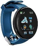 Bluetooth reloj inteligente reloj inteligente presión arterial en hombres s mujeres s hombres reloj impermeable deportes tracker a Android iOS teléfonos