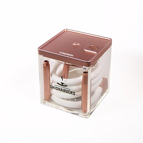 Shishabucks Cloud Micro Hookah - Rose Gold