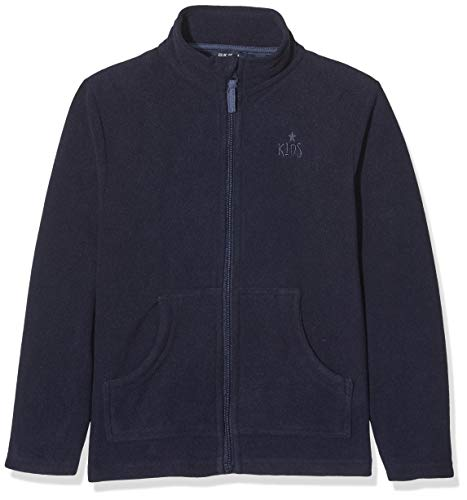 Blue Seven Jungen Fleecejacke Jacke, Blau (Nachtblau 590), (Herstellergröße: 98)