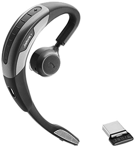 Jabra Motion UC–Headset (Mono, Schwarz, Grau, Ohrbügel, Bluetooth, USB, 100m)