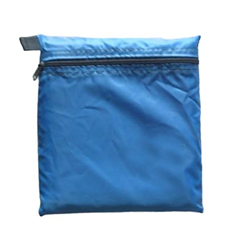 2,5 x 1,4 m impermeable para acampada King Carpa Toldo cubierta de lluvia (amarillo), color azul celeste, tamaño Tamaño libre