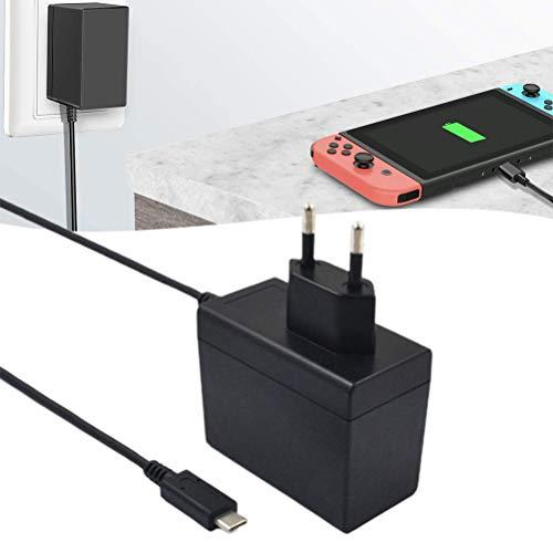 BSTQC Adaptador de CA de Carga rápida Adaptador de la Fuente de alimentación Universal Conveniente Cargador rápido Compatible con el Adaptador del Recorrido del Interruptor