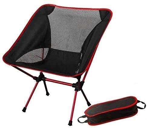 Azarxis Mini Camping Tabouret Chaise Siège Pliant Basse Léger Heavy Duty Compact