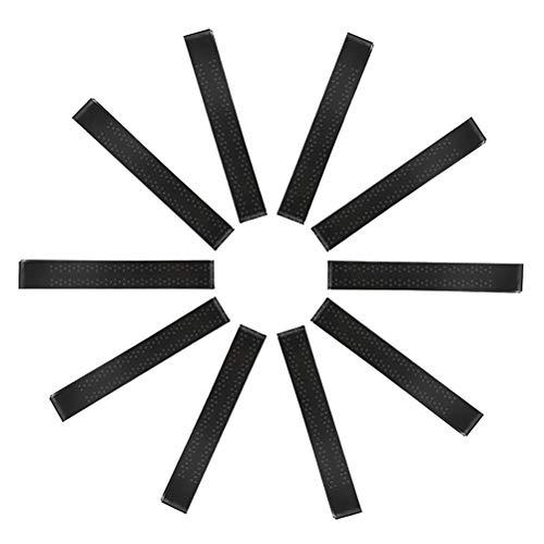 Idealeben ラケット用グリップテープ 10本セット テニスラケットオーバーグリップ 滑り止め ゴルフ グリップテープ バドミントンラケット グリップ 吸汗 通気性抜群