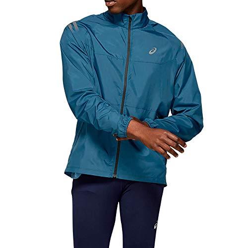 ASICS Herren Icon Jacke Trainingsjacke Taschen Leicht