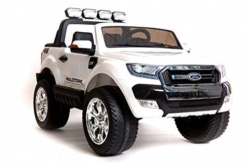 Coche eléctrico para niños Ford Ranger Wildtrak 4X4 LCD Luxury - 2.4Ghz,...