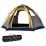 Pop Up Tent Family Camping Tent 4 Person Tent Portable Instant Tent Automatic