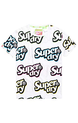 Superdry Shirt Shop Duo tee Camiseta de Tirantes para Hombre