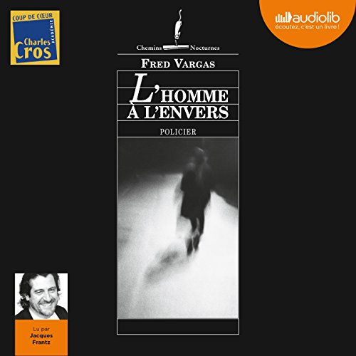 L'homme à l'envers audiobook cover art