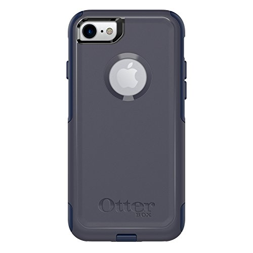 OtterBox COMMUTER SERIES Case for iPhone 8 & iPhone 7 (NOT Plus) - Retail Packaging - INDIGO WAY (MARITIME BLUE/ADMIRAL BLUE)