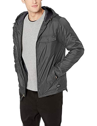 RVCA Men Tracer Jacket Black Medium