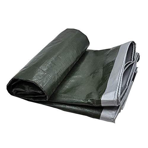 WEIWEI Lona cuadrada de alto rendimiento – Lona duradera impermeable con ojales y cuerda para cubrir muebles de jardín, cubierta de techo de camping y mucho más (color: A, tamaño: 4 y veces; 5 m)