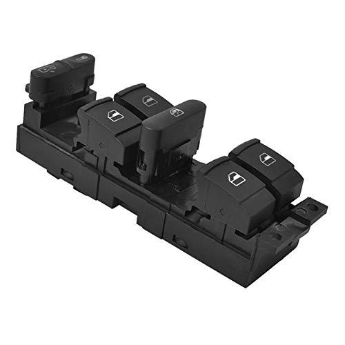 linger AP68-Master Power Window Control Interruptor Interruptor Ajuste para 99-04 Golf 4 Jetta MK4 Bora Beetle Passat B5 B5.5 3BD 959 857 (Color : Black)