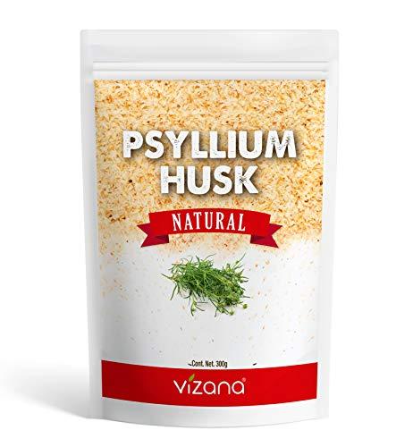 Psyllium Husk Natural 300g, Sin Azucar