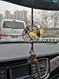 Healing Crystal Decor Tree of Life Car Hanging Accessories 7 Chakras Stones Wall Decor Meditation Ornaments Good Luck Home Decoration