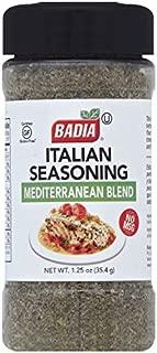 Badia Italian Seasoning Mediterranean Blend, 1.25 Ounce (Pack of 6)