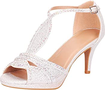 Best silver formal sandals Reviews