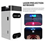 DOMESIN Wireless Laser Projection Bluetooth Virtual Keyboard for iPhone,...