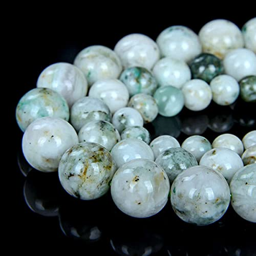 TOMOHO- Natural Mariposite Gemstone Grd AAA Round 5MM 6MM 7MM 8MM 10MM Loose Beads (D4), making jewelry, beads making necklaces. - Select Your Size is 7-8MM 15.5I 80008018