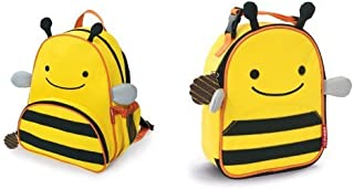 Skip Hop Zoo Backpack and Lunchie Set, Bee