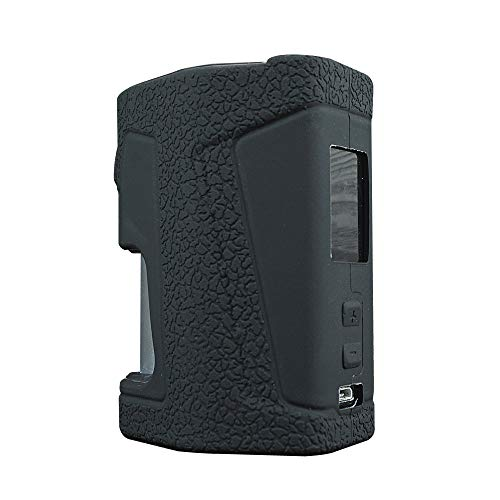 Vandyvape Pulse Dual Case, DSC-Mart Silicone Cover for Vandyvape Pulse Dual 220W Squonk V2 RDA Protective Sleeve Shield Wrap (Black)