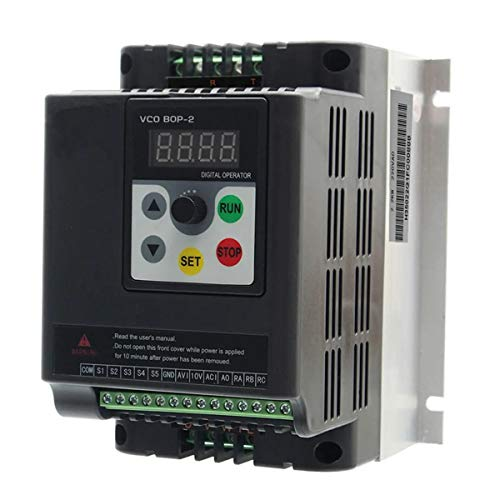 N\A Coche inversor de energía Velocidad del Motor inversor de accionamiento 2.2KW 220V Individual for la Fase 3 del convertidor de frecuencia Variable