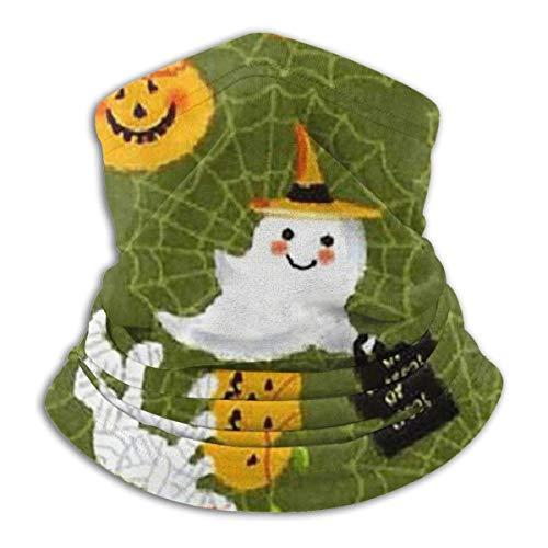 Tour de Cou Cagoule Microfibre Chapeaux Tube Masque Visage, Trick Or Treat Holidays Halloween Fleece Neck Warmer - Reversible Neck Gaiter Tube, Versatility Ear Warmer Headband & For Men And Women