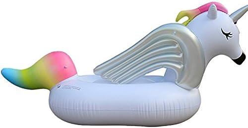 Aufblasbare H ematte Portable Pool Float Aufblasbares PVC-Regenbogen-Pferdepool schwimmt Sitz für Erwachsene Kinderkindermädchen-Jungen-Floss-Spielzeug Gemüse Lila Sommer Party Urlaub Kinder