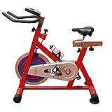 WGFGXQ Bicicleta estática Bicicleta de Ciclismo para Interiores Bicicleta estática con Asiento Ajustable y Resistencia, Cómodo cojín de Asiento Bicicleta para Bicicletas