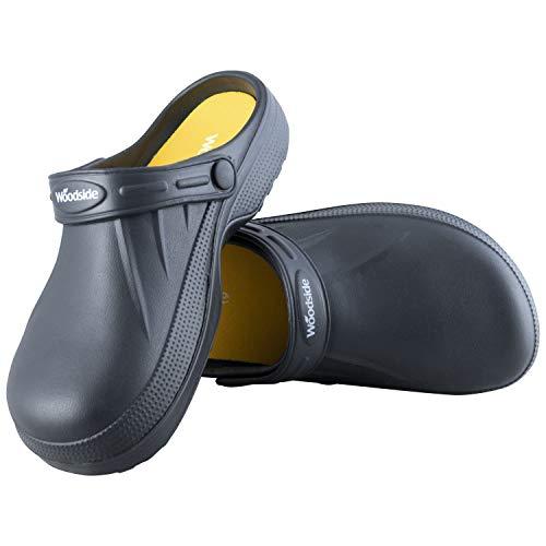 Woodside Clog Shoe - Black Size 10