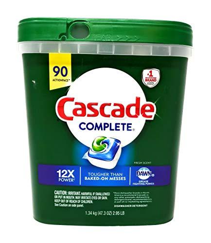 cascade dishwasher detergent gel - 4