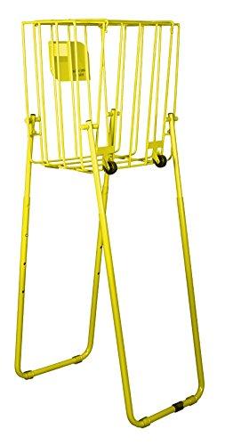 HOPARAZZI Elite 65 Tennis Ball Hopper, Electric Yellow