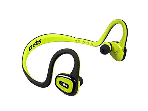 SBS Tesportbtflexy Sport Runway Flexy Auriculares estéreo con Diadema de Silicona, Bluetooth v4.1