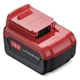Powerextra 18-Volt Lithium Ion Battery for Porter Cable 18V Cordless Power Tools Battery PC18B PC18BL PC18BLX,4.0Ah 1Pack