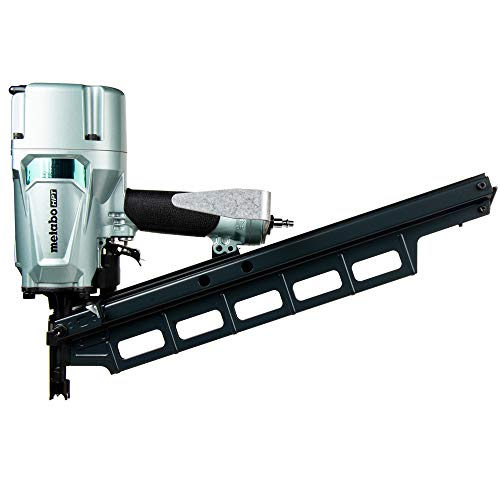 Metabo HPT Framing Nailer, Pneumatic, 2-Inch up to 3-1/4-Inch Plastic Collated Full Head Framing Nails, 21 Degree Magazine, 5-Year Warranty (NR83A5S) - NR83A5(S)M
