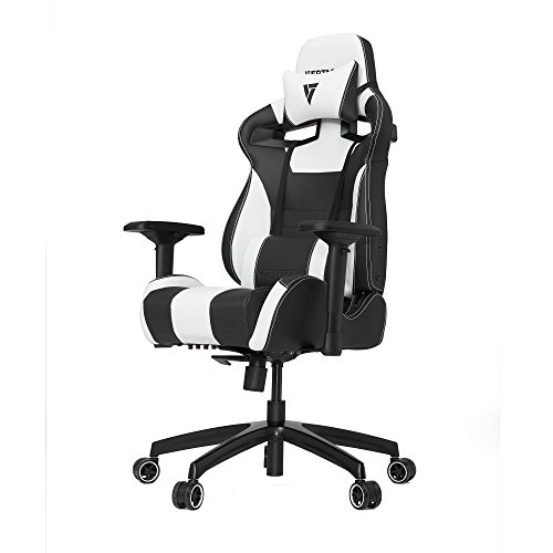 VERTAGEAR S-Line SL4000 Gaming Chair Black/White, Steel, Medium