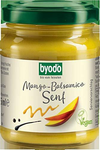 Byodo Bio Mango-Balsamico Senf, 125 ml (6 x 125 ml)