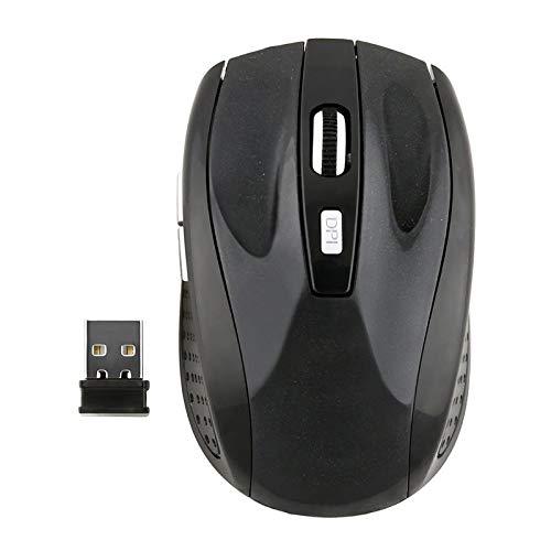 LXHYVCM Draadloze muizen van hoge kwaliteit, universeel, 2,4 GHz, draadloze muis met USB-ontvanger, draadloze muizen voor games, laptop