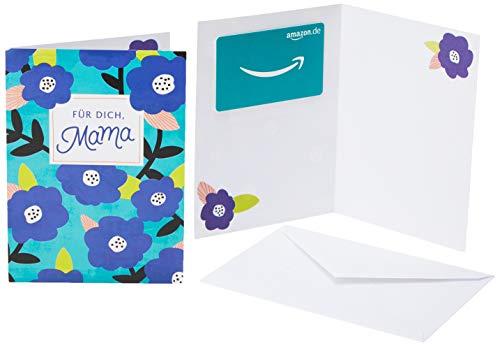 Amazon.de Geschenkkarte in Grußkarte (Muttertag)