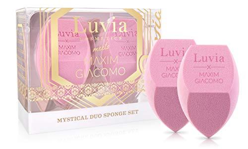 Beauty Sponge Blender Set By Luvia X Maxim - Farbwechselnder Blending Schwamm – Make-up Ei Für Ein Strahlendes Finish