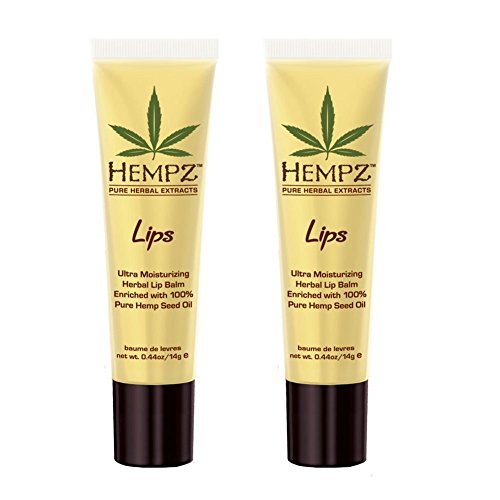 Price comparison product image HEMPZ Non SPF Lip Balm Set of 2 .44 oz each
