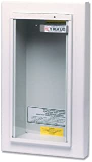 Kidde Semi-Recessed 10-Pound Fire Extinguisher Cabinet | Model 468045