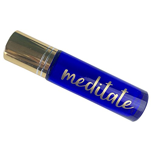 Meditation Blend Essential Oil Roll-on (Blend 2) 10ml Glass Bottle
