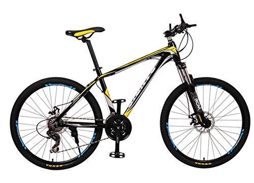 Bicicleta de carretera Circuito de bicicleta de fitness 27 pulgadas 27 engranaje freno de doble disco Bicicleta urbana para hombres y mujeres para que los estudiantes adultos viajen al aire libre