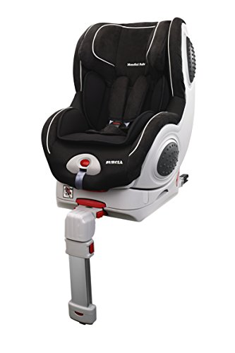 Mondial Safe Suecia 2 KS18 - Silla de bebé para automóvil, color negro con ribete blanco