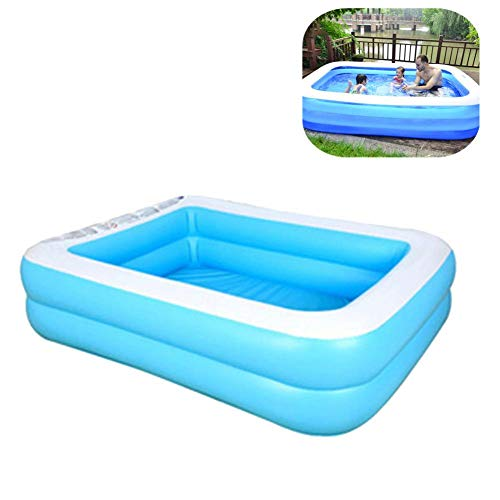 Inflatable Swimming Pool Hot Tubs Bathtubs Inflated Tubs Wear-Resistant Thick Marine Ball Pool PVC Folding Durable Swim Center Family Inflatable Pool Family Kid Adult Bath Tubs